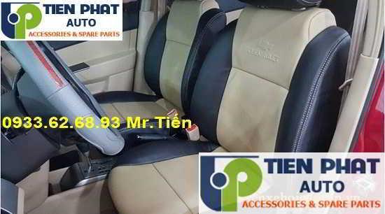 May Áo Ghế Da Xe Chevrolet Cruze Tại Quận Tân Phú