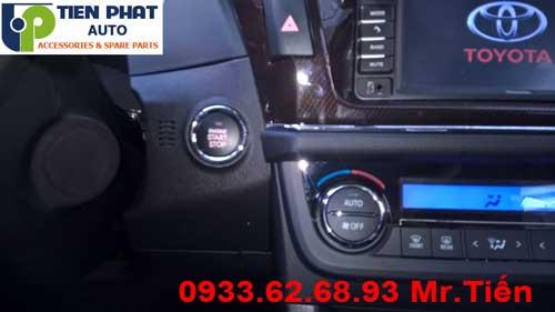 Chuyên: Lắp Start Stop Cho Xe Toyota Yaris Tại Tp.Hcm
