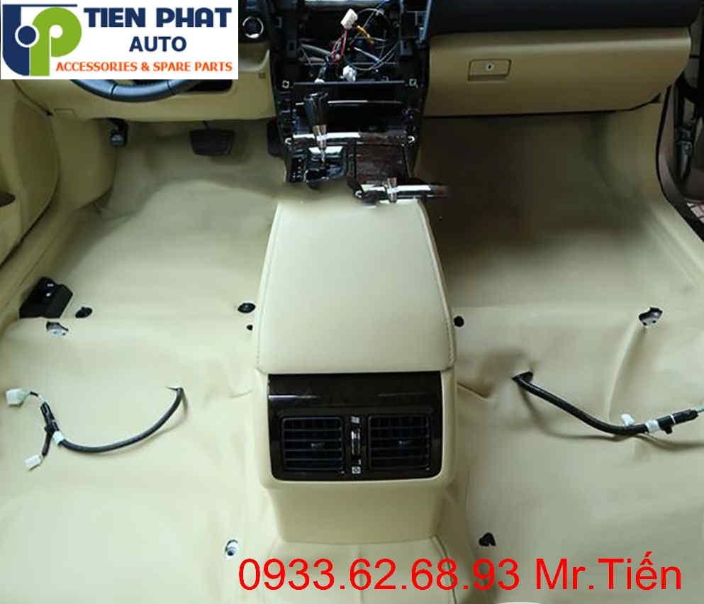 Dịch Vụ Lót Sàn Simili Cho Chevrolet Spark Tại Tp.Hcm