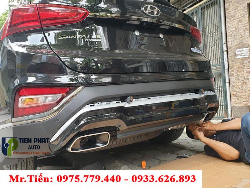GẮN LIPPO CAO CẤP CHO XE HUYNDAI SANTAFE| Tienphatauto.com.vn