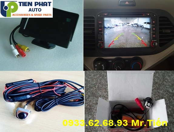 Lắp đặt Camera De Cho Toyota Prado Tại TP.HCM
