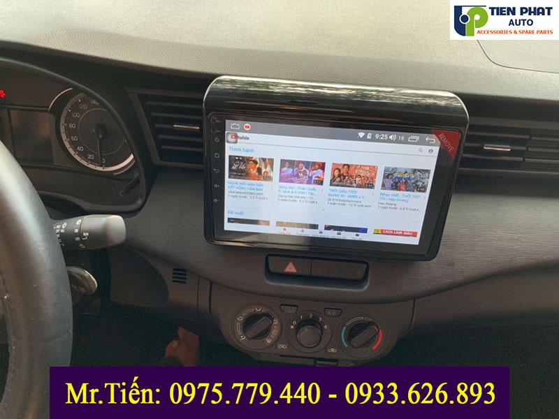 MÀN HÌNH DVD ANDROID CẮM SIM 4G cho xe SUZUKI ERTIGA|Tienphatauto.com.vn