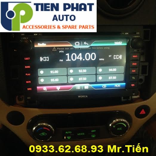 Màn Hình DVD Cao Cấp Cho Chevrolet Aveo 2008-2009 Tại Tp.Hcm Uy Tín Nhanh