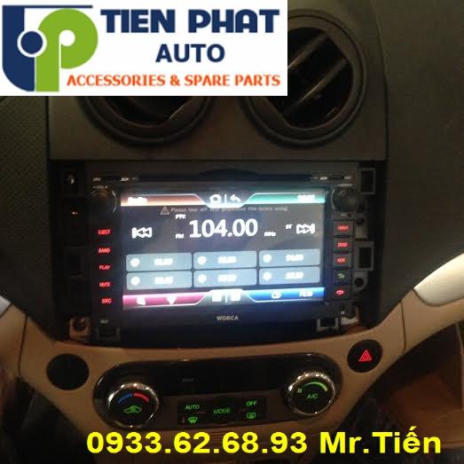 Màn Hình DVD Cao Cấp Cho Chevrolet Aveo 2013-2016 Tại Tp.Hcm Uy Tín Nhanh