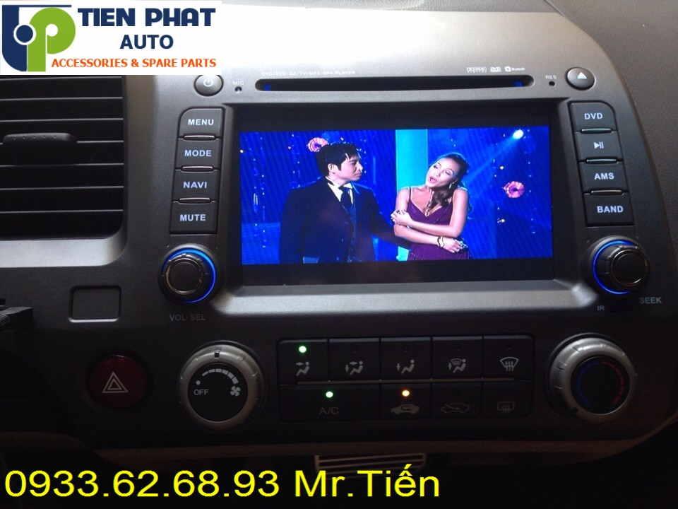 Màn Hình DVD Cao Cấp Cho Honda Civic 2008-2009 Tại Tp.Hcm Uy Tín Nhanh