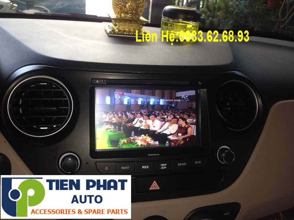 Màn Hình DVD Cao Cấp Cho Huyndai Grand I10 2008-2009 Tại Tp.Hcm Uy Tín Nhanh