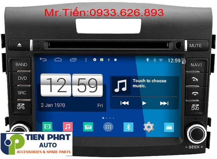 Màn Hình DVD winca s160 Chạy Android Cho Honda CRV