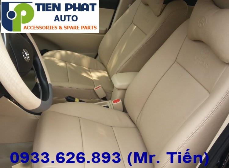 May Bọc Ghế Toyota Vios Tận Nơi Tại Huyện Hóc Môn